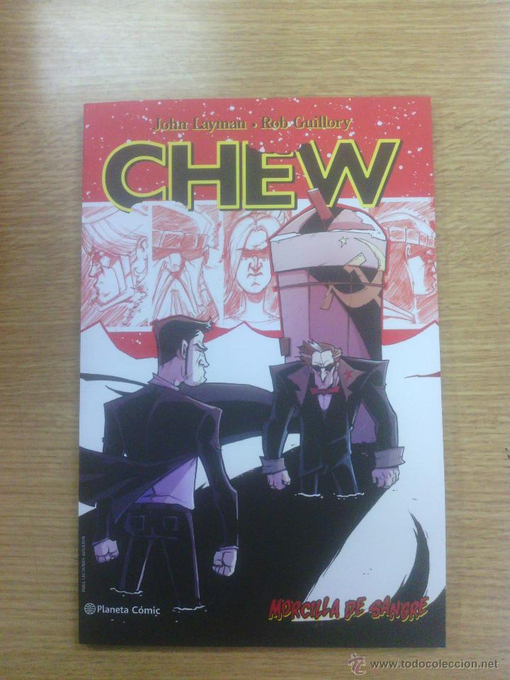 CHEW #10 MORCILLA DE SANGRE (Tebeos y Comics - Planeta)