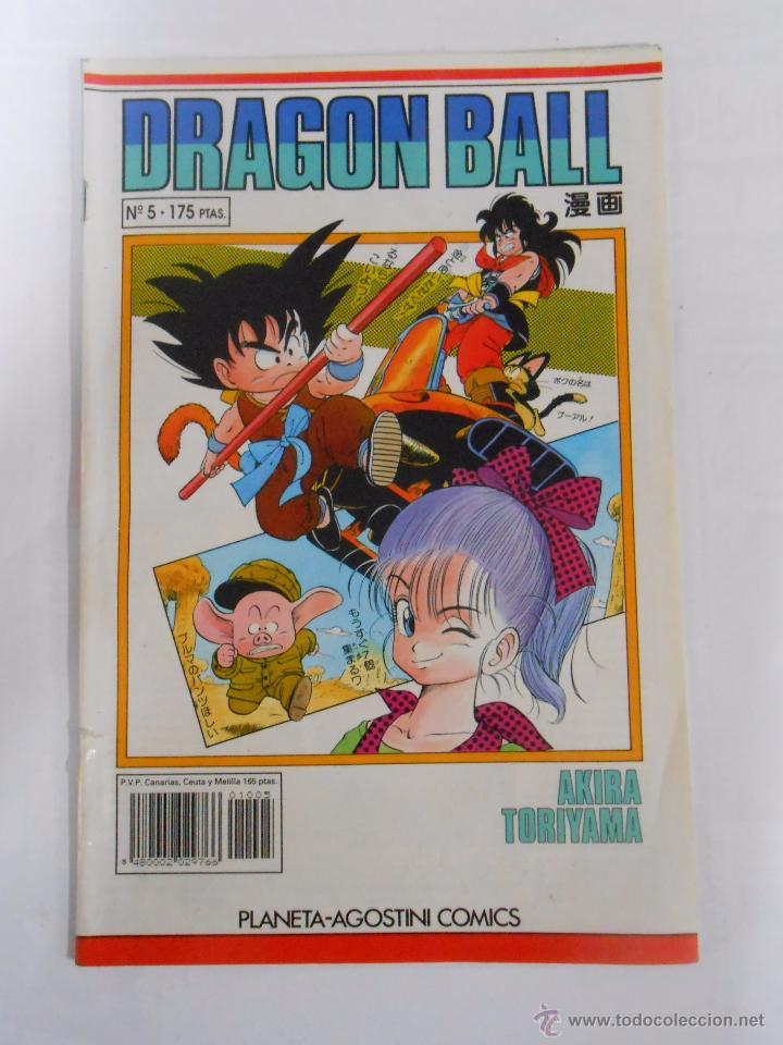 DRAGON BALL Nº 5. AKIRA TORIYAMA. PLANETA AGOSTINI COMICS. TDKC9 (Tebeos y Comics - Planeta)