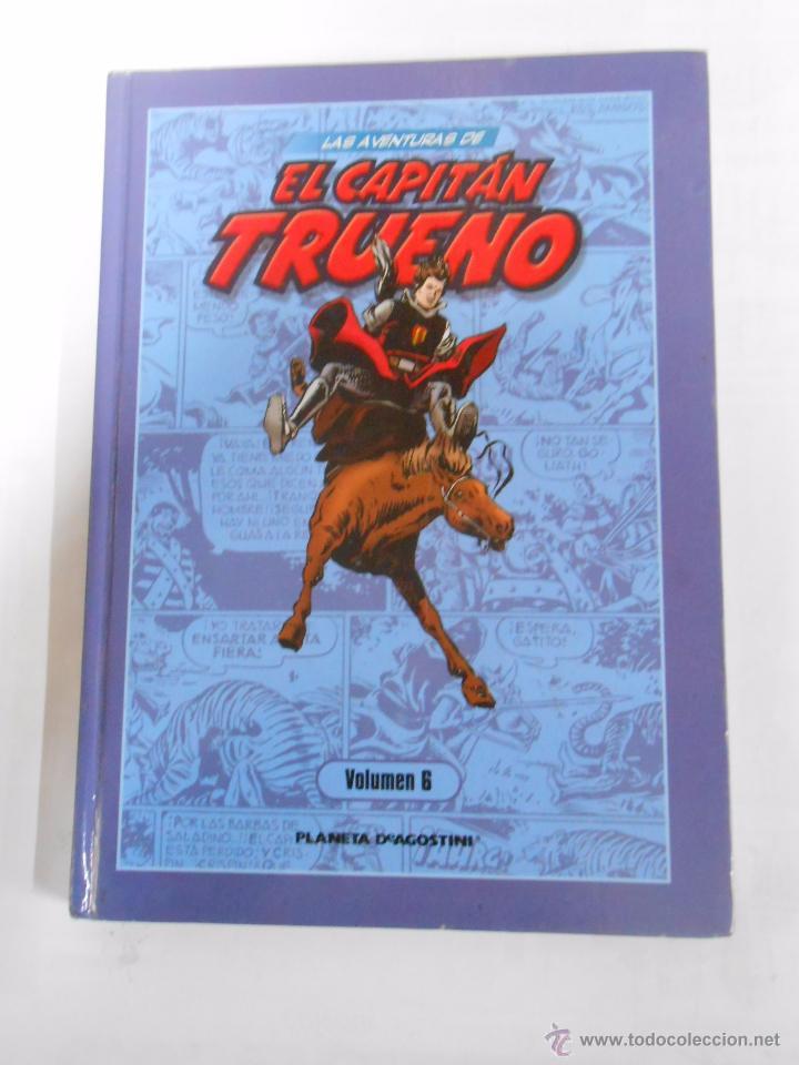 LAS AVENTURAS DE EL CAPITAN TRUENO. VOLUMEN 6. PLANETA DEAGOSTINI. ARM07 (Tebeos y Comics - Planeta)