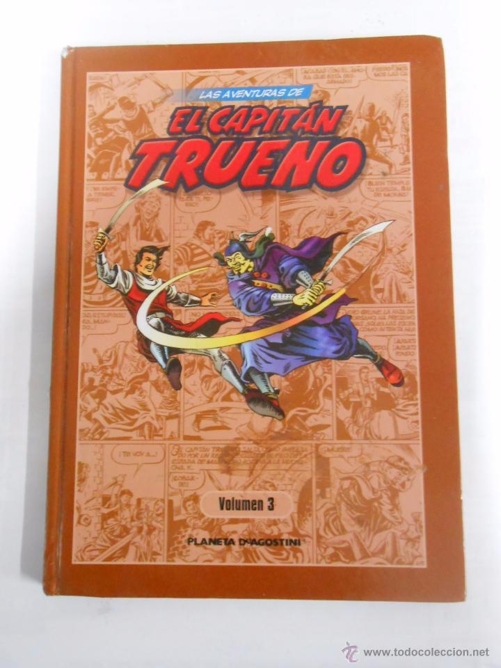 LAS AVENTURAS DE EL CAPITAN TRUENO. VOLUMEN 3. PLANETA DEAGOSTINI. ARM07 (Tebeos y Comics - Planeta)