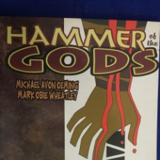 Cómics: HAMMER OF THE GODS - ENEMIGO MORTAL - MICHAEL OEMING / MARK WHEATLEY - PLANETA. Lote 54027206