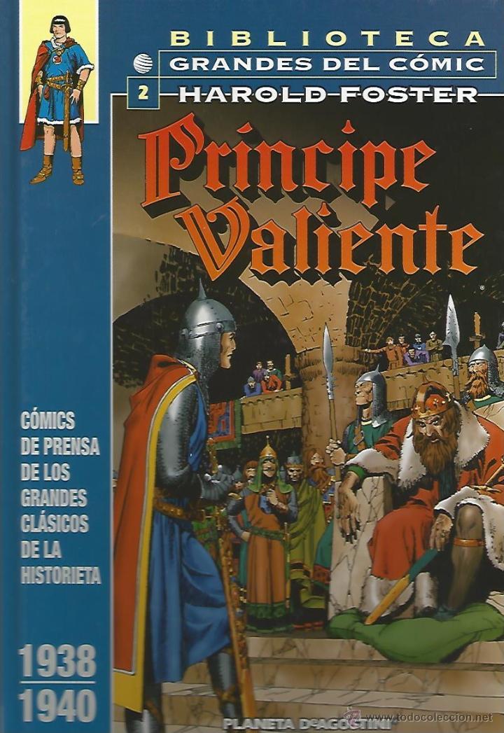 PRÍNCIPE VALIENTE 1938-1940 - HAROLD FOSTER - BIBLIOTECA GRANDES DEL CÓMIC Nº2 - PLANETA (Tebeos y Comics - Planeta)