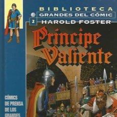 Cómics: PRÍNCIPE VALIENTE 1938-1940 - HAROLD FOSTER - BIBLIOTECA GRANDES DEL CÓMIC Nº2 - PLANETA. Lote 55881403