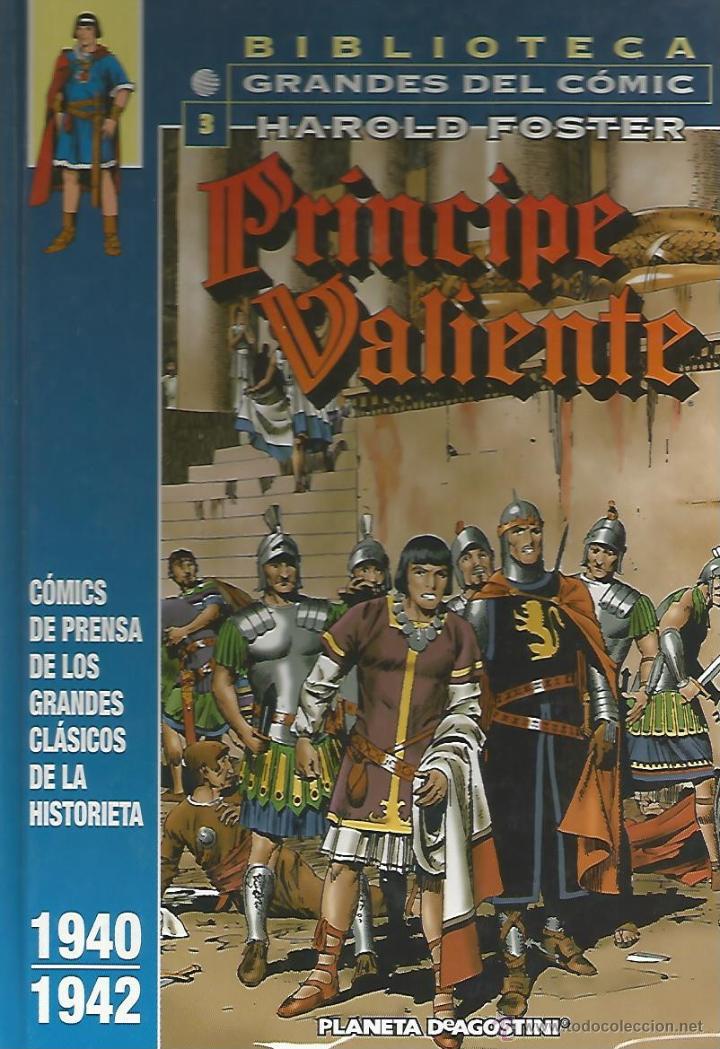 PRÍNCIPE VALIENTE 1940-1942 - HAROLD FOSTER - BIBLIOTECA GRANDES DEL CÓMIC Nº3 - PLANETA (Tebeos y Comics - Planeta)