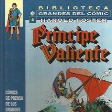 Cómics: PRÍNCIPE VALIENTE 1942-1944 - HAROLD FOSTER - BIBLIOTECA GRANDES DEL CÓMIC Nº4 - PLANETA. Lote 54764908