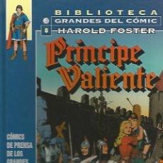 Fumetti: PRÍNCIPE VALIENTE 1949-1951 - HAROLD FOSTER - BIBLIOTECA GRANDES DEL CÓMIC Nº8 - PLANETA. Lote 75790334