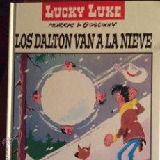 Cómics: LOS DALTON VAN A LA NIEVE. Lote 54780788