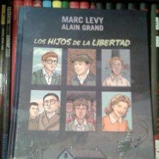 Cómics: LOS HIJOS DE LA LIBERTAD, DE MARC LEVY Y ALAIN GRAND. Lote 54793212