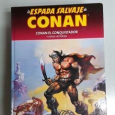 Cómics: LA ESPADA SALVAJE DE CONAN Nº 4 : CONAN EL CONQUISTADOR - COLECCIONABLE PLANETA. Lote 54884453
