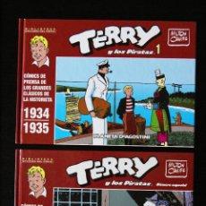 Cómics: TERRY Y LOS PIRATAS, Nº 1 Y NÚMERO ESPECIAL. BIBLIOTECA GRANDES DEL CÓMIC. PLANETA DE AGOSTINI, 2005. Lote 55015564