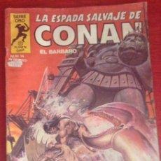 Fumetti: COMIC PRIMERA EDICION LA ESPADA SALVAJE DE CONAN EL BARBARO EL COLOSO DE ARGOS 1982. Lote 55562100