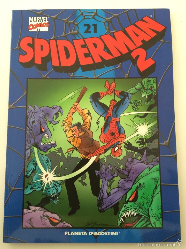 SPIDERMAN COLECCIONABLE AZUL N.21 (Tebeos y Comics - Planeta)