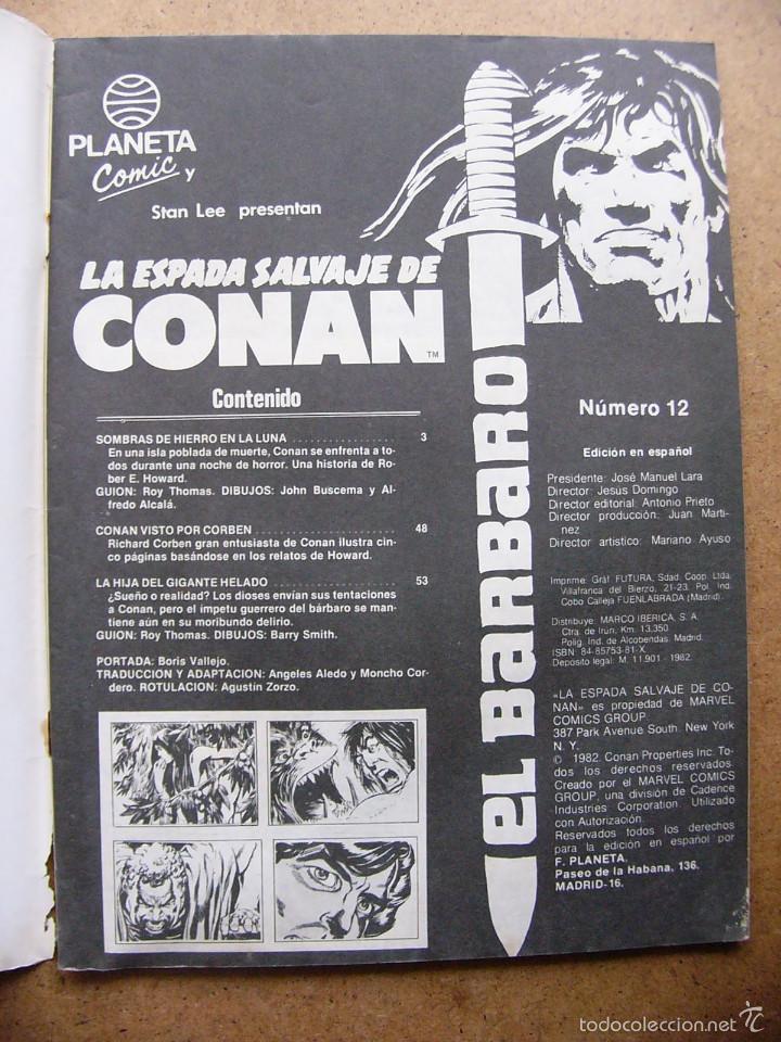 comic la espada salvaje de conan nº 12 sombras - Comprar Comics ...