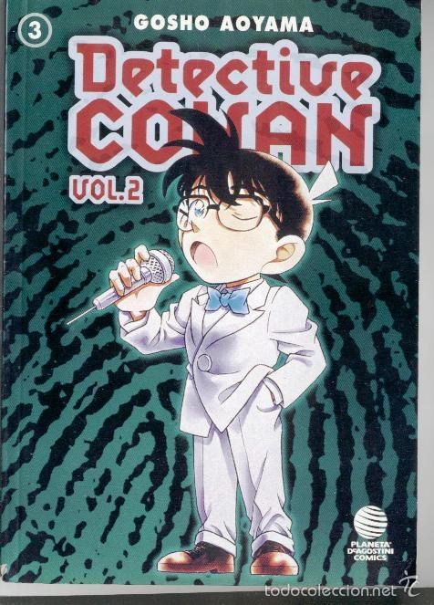 DETECTIVE CONAN 2 DE 3 - CONAN FILE 11-12-13-14 Y 15 (Tebeos y Comics - Planeta)