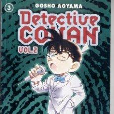 Cómics: DETECTIVE CONAN 2 DE 3 - CONAN FILE 11-12-13-14 Y 15. Lote 56840423
