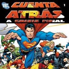 Cómics: CUENTA ATRÁS A CRISIS FINAL NºS 1 A 5. Lote 56903778