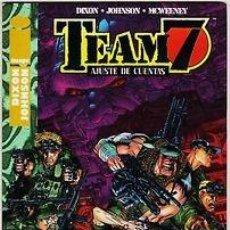 Comics - TEAM 7 AJUSTE DE CUENTAS (CHUCK DIXON / JASON JOHNSON / MCWEENEY) - IMPECABLE PRECINTADO - 143562169