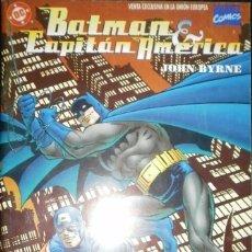 Cómics: BATMAN Y CAPITÁN AMÉRICA DE JOHN BYRNE PLANETA DE AGOSTINI - MARVEL CÓMICS. Lote 180259470