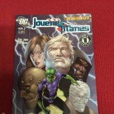 Cómics: PLANETA DC PRESENTA JOVENES TITANES NUMERO 2 MUY BUEN ESTADO. Lote 57335469