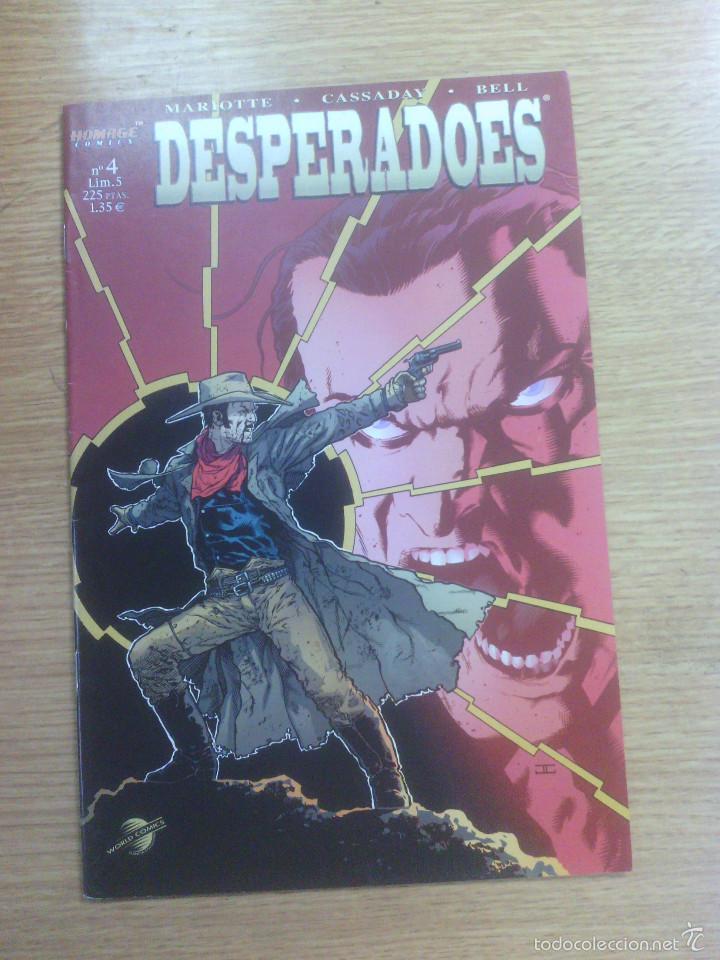 DESPERADOES #4 (Tebeos y Comics - Planeta)