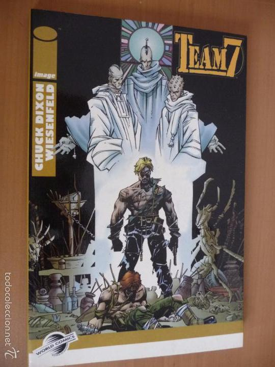 TEAM7. CHUCK DIXON/WIESENFELD. TOMO WORLD COMIC. PLANETA (Tebeos y Comics - Planeta)