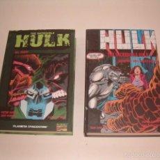 Cómics: THE INCREDIBLE HULK. 1988 -1990 Y 1990 - 1992. DOS TOMOS. RM75503. . Lote 57930686