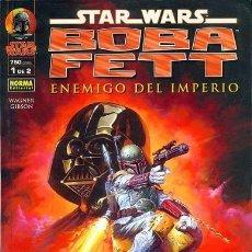 Cómics: STAR WARS - BOBA FETT ENEMIGO DEL IMPERIO - COLECCIÓN COMPLETA 2 NÚMEROS - PLANETA. Lote 58009496