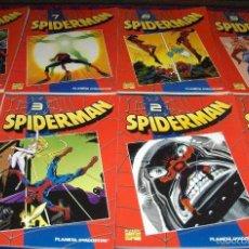 Cómics: LOTE 14 TOMOS SPIDERMAN TOMOS ROJOS. Lote 58087377