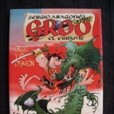 Cómics: GROO EL ERRANTE - GROO Y EL DRAGON - SERGIO ARAGONES - PLANETA.. Lote 58582806