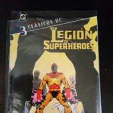 Cómics: CLASICOS DC LA LEGION DE LOS SUPERHEROES 3. Lote 58604129