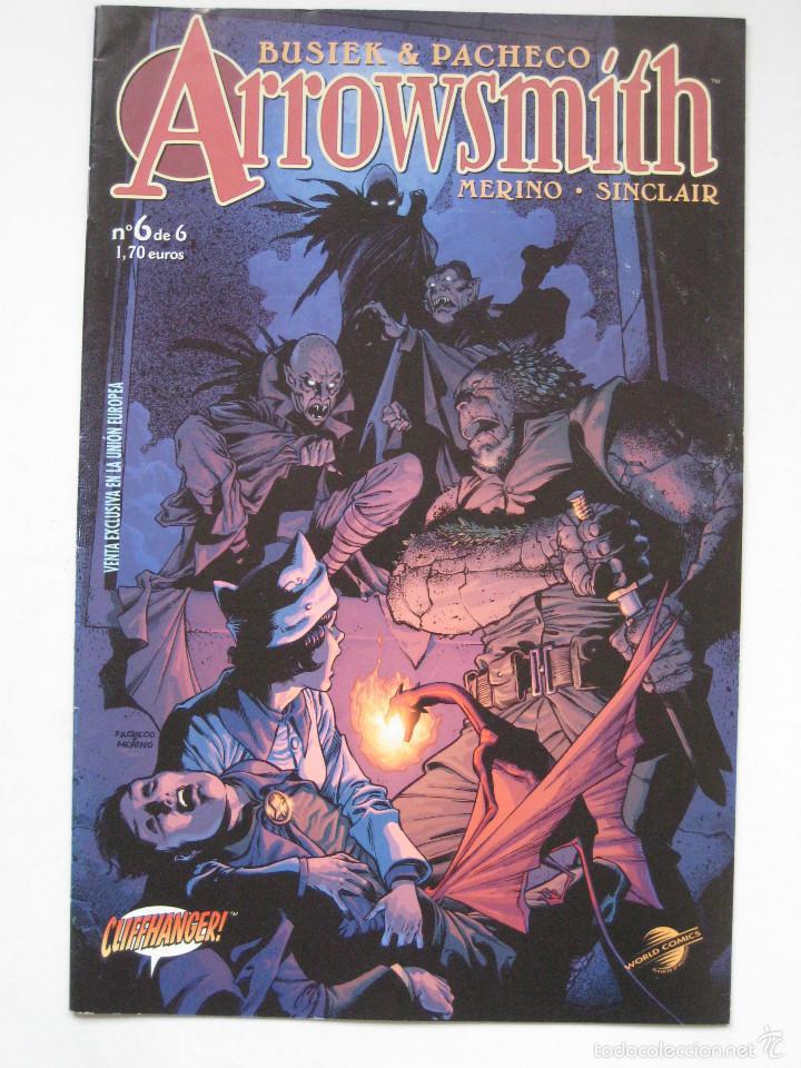 ARROWSMITH Nº 6. PLANETA (Tebeos y Comics - Planeta)