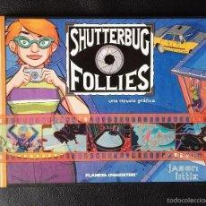 Cómics: SHUTTERBUG FOLLES - JASON LITTLE - PLANETA - CARTONÉ - PVP 14 €. Lote 58694540