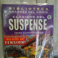 Cómics: CLASICOS DEL SUSPENSE NÚMERO 1 BIBLIOTECA GRANDES DEL COMIC. Lote 58694712
