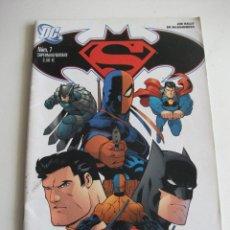 Cómics: SUPERMAN / BATMAN Nº 7 PLANETA C7A. Lote 60052443