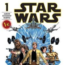 Cómics: CÓMIC STAR WARS NÚMERO 01 CÓMICS MARVEL NUEVO EDICIÓN LIMITADA 1ª IMPRESIÓN. Lote 60153823