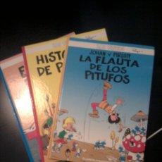 Cómics: 3 ÁLBUMES DE LOS PITUFOS EDICIÓN PLANETA NºS 2 3 Y 9.. Lote 60531539