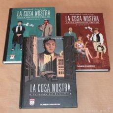 Cómics: LA COSA NOSTRA 1 2 3 - ED PLANETA AÑO 2006 - COMO NUEVOS. Lote 60824871