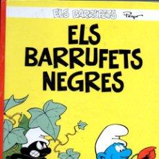 Cómics: PEYO - PITUFOS - ELS BARRUFETS NEGRES (PLANETA, 2006). Lote 60860503