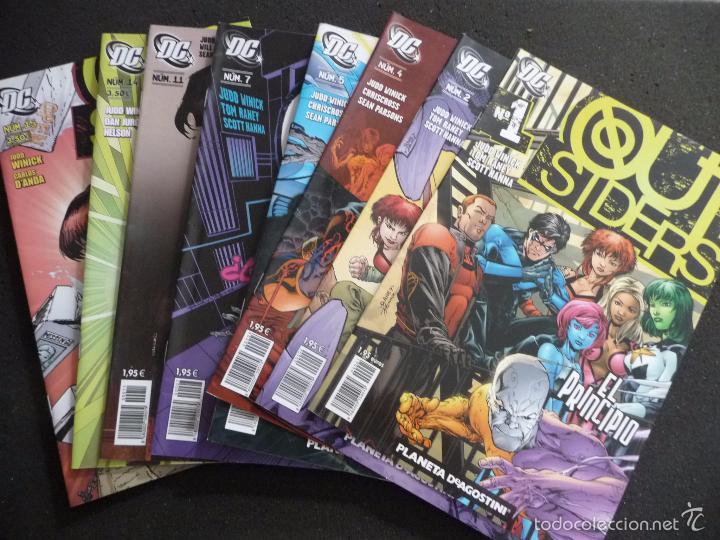 OUTSIDERS. LOTE DE 8 COMICS. PLANETA (Tebeos y Comics - Planeta)
