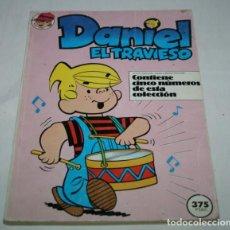Cómics: DANIEL EL TRAVIESO, TOMO CON 5 NUMEROS EL 1 2 3 4 Y 5, PLANETA DE AGOSTINI 1987, TVE, COMIC, FORUM. Lote 61698564