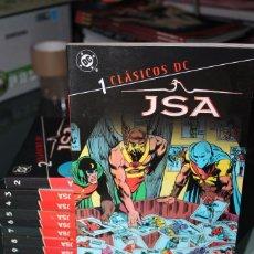 Cómics: JSA CLASICOS DC COMPLETA DEL 1 AL 10 PLANETA. Lote 61704900