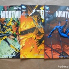 Cómics: BATMAN PRESENTA NIGHTWING 1 A 3 - PLANETA - JMV. Lote 65739530