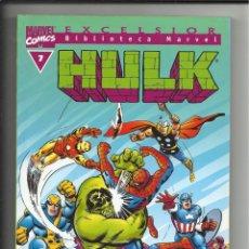 Cómics: BIBLIOTECA MARVEL: HULK Nº 7, 2004, IMPECABLE. Lote 63012240