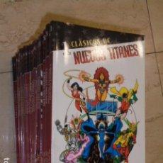 Cómics: CLASICOS DC NUEVOS TITANES LOTE NUMS. 1 AL 33 A FALTA DEL Nº 12 - PLANETA OFERTA. Lote 63321372
