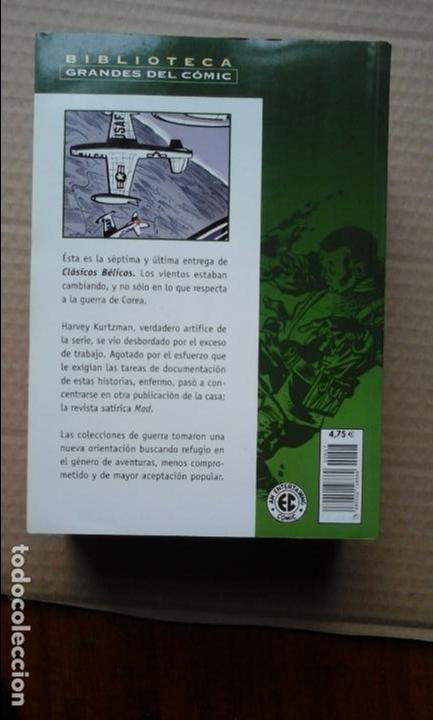 Cómics: BIBLIOTECA GRANDES DEL COMIC CLASICOS BELICOS 7 TOMOS COMPLETA PLANETA 2004 - Foto 3 - 63389184