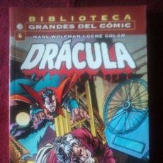 Cómics: BIBLIOTECA GRANDES DEL COMIC-DRACULA-N°6. Lote 64142257