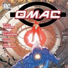 Cómics: OMAC DE BRUCE JONES & RENATO GUEDES & CARLOS MAGNO & ALLAN GOLDMAN. Lote 278819573