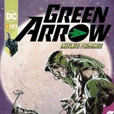 Cómics: GREEN ARROW TOMO 8 NUEVO UNIVERSO DC - INSTINTO PRIMARIO ECC EDICIONES - PERCY ZIRCHER. Lote 66137990