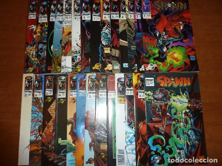 SPAWN - NÚMERO 1 AL 27 (ESPAÑOL) - PLANETA IMAGE 1994/1996 - MUY BUEN ESTADO (Tebeos y Comics - Planeta)