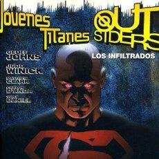 Cómics: JÓVENES TITANES / OUTSIDERS. LOS INFILTRADOS TOMO PLANETA. Lote 70110853